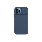 Силиконовый чехол Samsung Galaxy A10 софт тач, свап-камера, синий