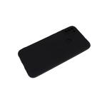 Силиконовый чехол Xiaomi Redmi Note 8T Soft-touch, однотонный, с защитой кам., без лого, черный