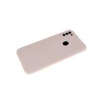 Силиконовый чехол Xiaomi Mi 10T матовый софт-тач без логотипа, защита камеры, пудра