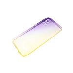 Силиконовый чехол Huawei Honor 10i ультратонкий, прозрачный градиент, фиолетово-желтый
