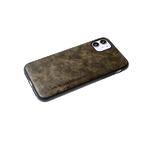 Силиконовый чехол Iphone 12/12 Pro (6.1) X-Level имитация кожи, коричневый