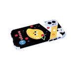 Силиконовый чехол Samsung Galaxy M12 антишок углы, 6D камера, яркий рисунок, mango