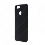 Чехол силиконовый FaisON для HUAWEI Honor 9 Lite, №18, Silicon Case, непрозрачный, матовый, чёрный