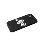 Силиконовый чехол Samsung Galaxy A51 матовый, с ярким рисунком, Эйнштейн