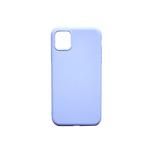 Силиконовый чехол Huawei Honor P30 Lite матовый soft touch, однотонный, голубой