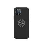 Чехол для Samsung Galaxy A51 с защитой камеры, противоударная, с магнитным держателем, черная