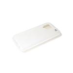 Силиконовый чехол soft touch 2mm для Samsung Galaxy A12 в коробке, белый