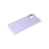 Силиконовый чехол soft touch 2mm для Samsung Galaxy M11/A11 в коробке, светло-фиолетовый