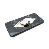 Силиконовый чехол Samsung G965F Galaxy S9 Plus в комплекте с popsockets, рисунок №1