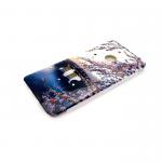 Силиконовый чехол Iphone 6/6S лаковый со стразами, рисунок №21