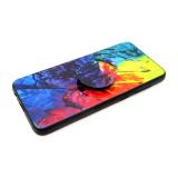Силиконовый чехол Samsung A530 Galaxy A8 2018 в комплекте с popsockets, рисунок №8