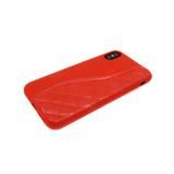 Силиконовый чехол Samsung J530 Galaxy J5 2017 волна с перфорацией, красный