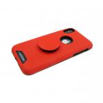 Задняя крышка Samsung Galaxy J2 Pro (2018) MOTOMO с попсокет, красная