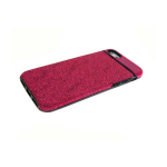 Силиконовый чехол Iphone 6/6S Auto Focus мерцание, розовый