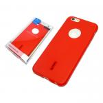 Силиконовая накладка Cherry для Lenovo K6 Power красный