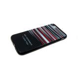 Силиконовый чехол Samsung A520F Galaxy A5 2017 HEY полосатый, красный