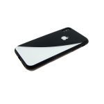 Задняя крышка Samsung J330 Galaxy J3 2017 Инь-янь, черно-белый