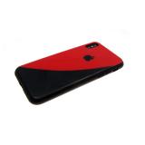 Задняя крышка Xiaomi Redmi Note 4X Инь-янь, красно-черный