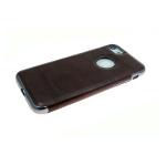 Силиконовый чехол Iphone 7/8 Lumat лакированный, коричневый