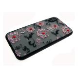 Задняя крышка Samsung A510 Galaxy A5 2016 матовые цветы мелкие, розовые
