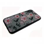 Задняя крышка Iphone 6/6S матовые цветы мелкие, розовые