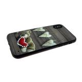 Задняя крышка Huawei Honor 9 сердца со стразами, мишка