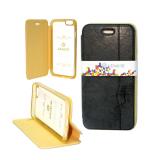 Чехол Armor Flip Cover с окошком на магните для iPhone 4G/4S Черный