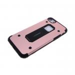 Силиконовый чехол Xiaomi Redmi 4 Prime Motomo, противоударный, металлик, роз. золото