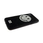 Задняя крышка Iphone 7 Plus/8 Plus Riora Von блестящая со смайликом, черная