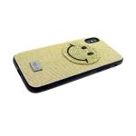 Задняя крышка Iphone 6 Plus Riora Von блестящая со смайликом, золотая