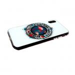 Задняя крышка Iphone 7/8 стеклянная с животными, фламинго