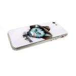 Задняя крышка Iphone 6/6S стеклянная с животными, Mature Man