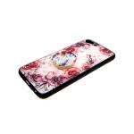 Силиконовый чехол Xiaomi Redmi Note 5A цветочный с попс, розы кустовые розовые