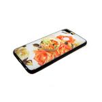 Силиконовый чехол Xiaomi Redmi Note 5A цветочный с попс, розы оранжевые