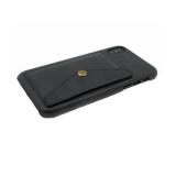 Чехол для Samsung J530 Galaxy J5 2017 кожанный с карманом на кнопке, черная