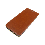 Чехол-книга MOFI для Xiaomi Redmi 5 Plus с силиконовым основанием и подставкой, коричневый