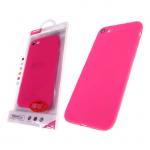 Силиконовый чехол Huawei Y3 2017 Smitt розовый