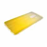 Силиконовый чехол Huawei Honor 8 Lite PC+Tpu хамелеон, желтый
