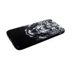 Задняя крышка Iphone 7/8 глянцевая с фото тигра