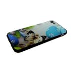 Силиконовый чехол Samsung A750F Galaxy A7 2018 пасхальный, яйца с бабочкой