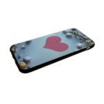 Силиконовый чехол Samsung A750F Galaxy A7 2018 пасхальный, яйца с сердцем