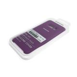 Силиконовый чехол Xiaomi Redmi Note 8 Silicone Cover Silky and Soft-touch finish, фиолетовый