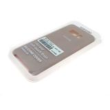 Силиконовый чехол Xiaomi Redmi Note 8 Silicone Cover Silky and Soft-touch finish, пудра