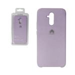 Силиконовый чехол Xiaomi Mi 10T Pro Silicone Cover Silky and Soft-touch finish, сиреневый