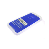 Силиконовый чехол Samsung G950F Galaxy S8 Silicone Cover Silky and Soft-touch finish, темно-синий