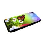 Задняя крышка Xiaomi Redmi 6a пластик, с летними принтами, бабочка