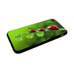 Задняя крышка Xiaomi Redmi 6a пластик, с летними принтами, божьи коровки
