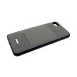 Задняя крышка Samsung Galaxy A70 PULOKA, клетка cверху и внизу, темно-серая