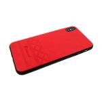 Силиконовый чехол Huawei Honor 8X ромбы Diamond, красный