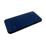 Силиконовый чехол Xiaomi Redmi 6 Pro/A2 Lite ромбы Diamond, темно-синий